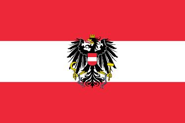 Государственный флаг Австрии