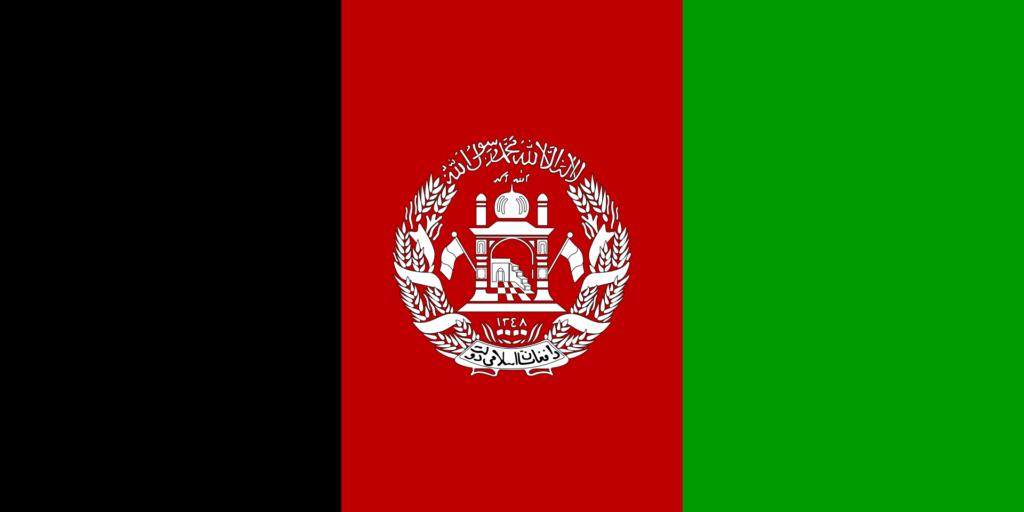 флаг афганистана-4