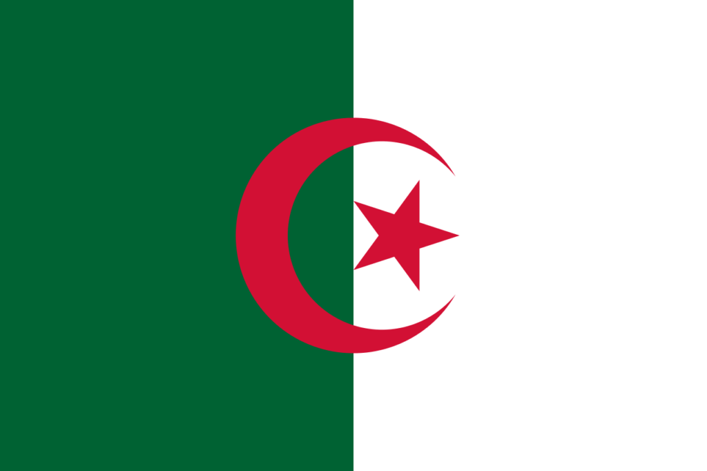 флаг алжира-1