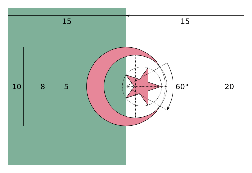 флаг алжира-3