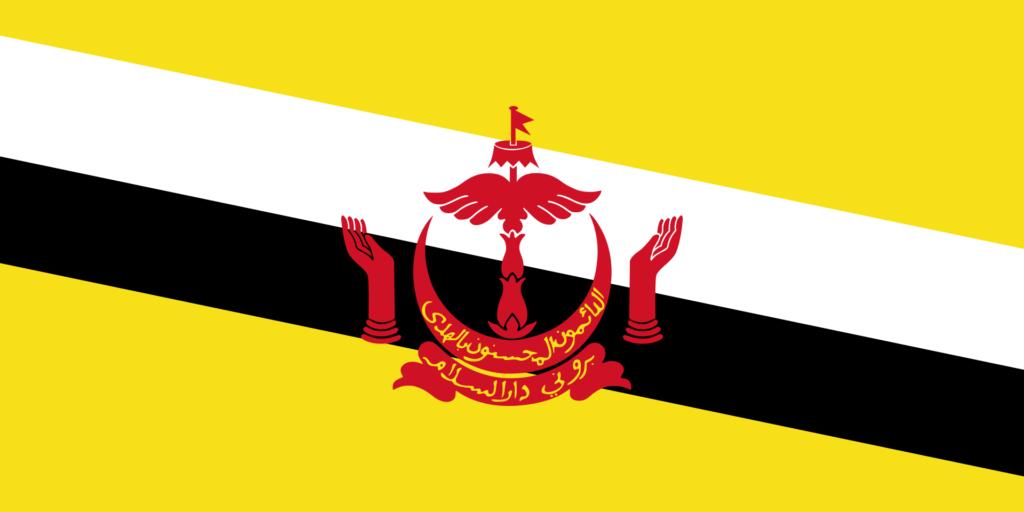 флаг брунея-4