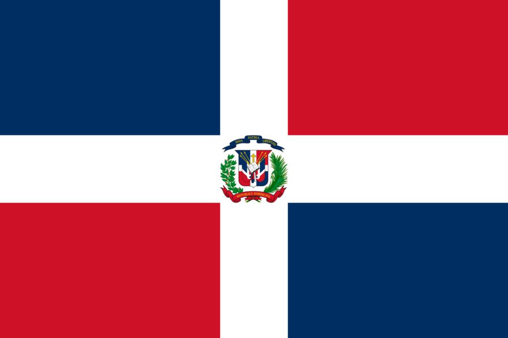 флаг доминиканской республики-1