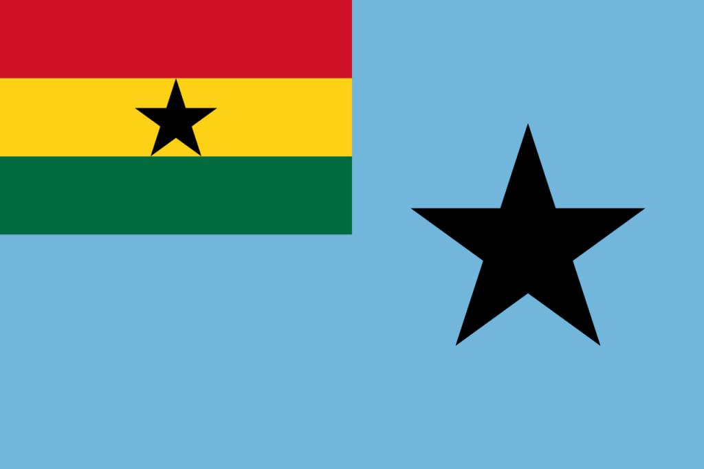 флаг ганы-7