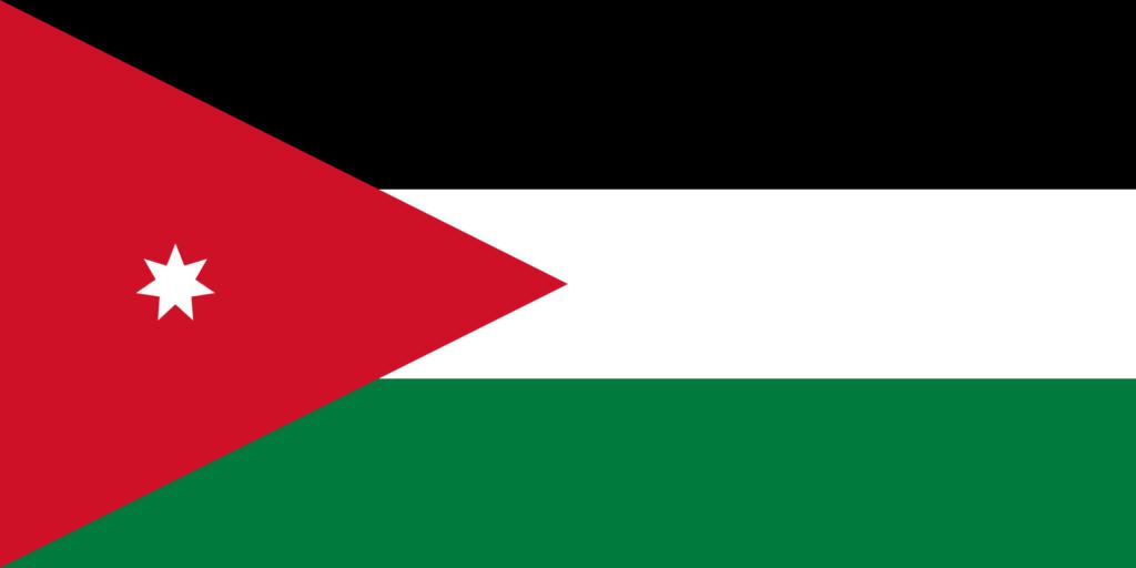 флаг иордании-1