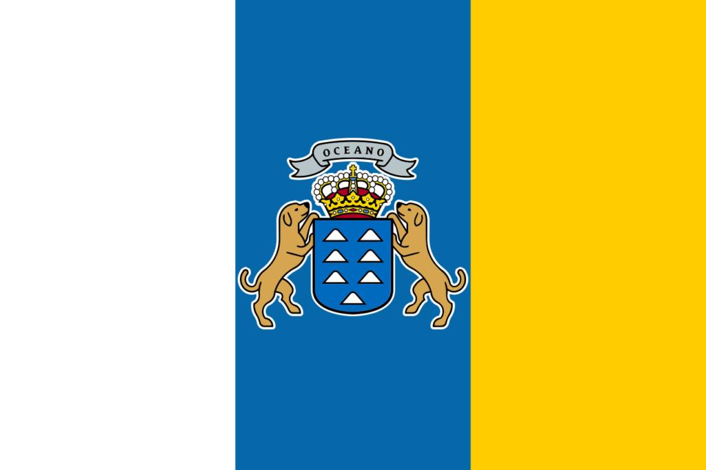 флаг канарских островов-1