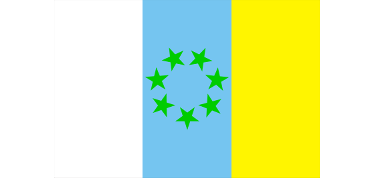флаг канарских островов-3