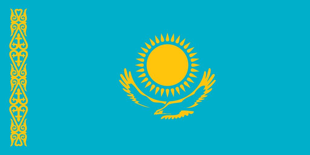 флаг казахстана-1