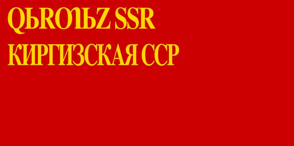 флаг киргизии-5