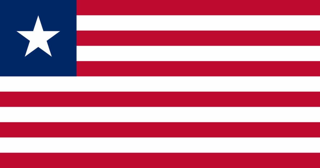 флаг либерии-1