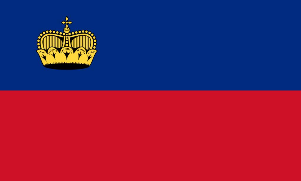 флаг лихтенштейна-1