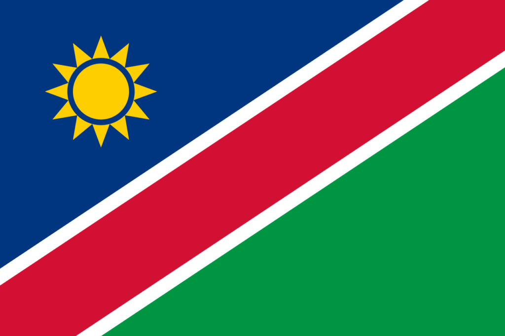 флаг намибии-1