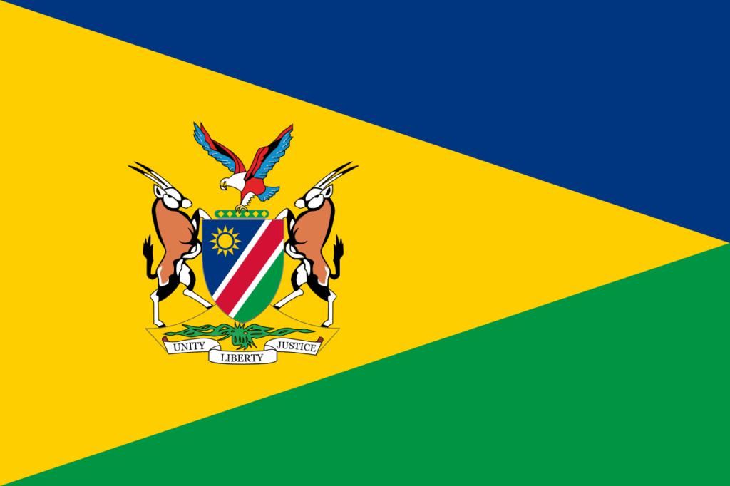 флаг намибии-5