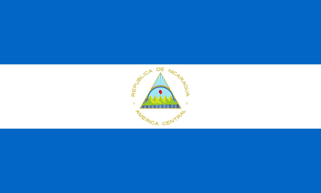 флаг никарагуа-1