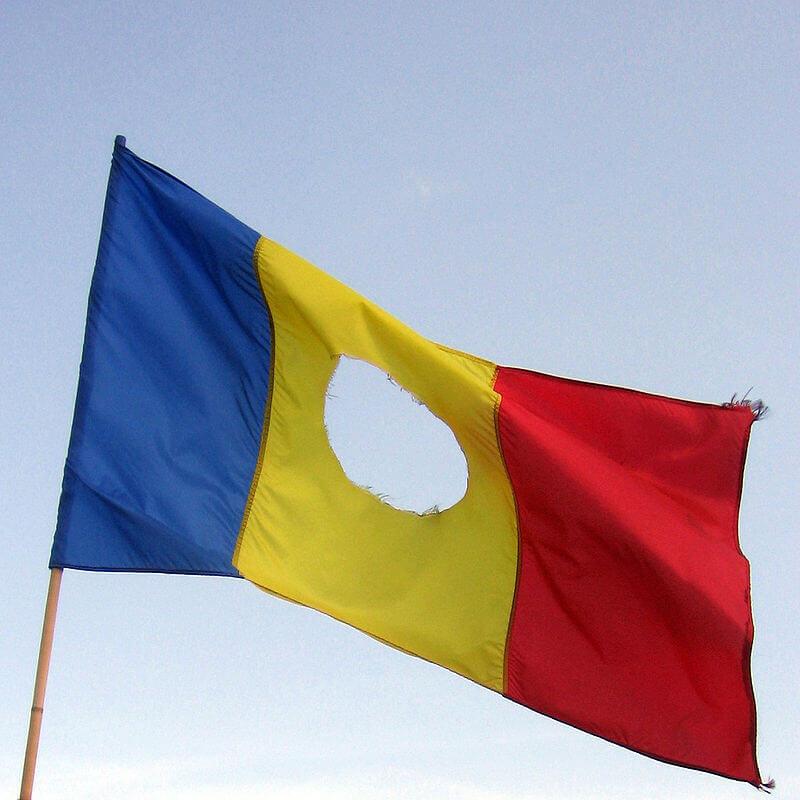 флаг румынии-8