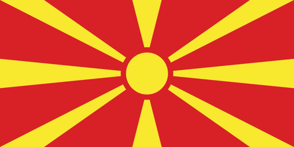 флаг северной македонии-1