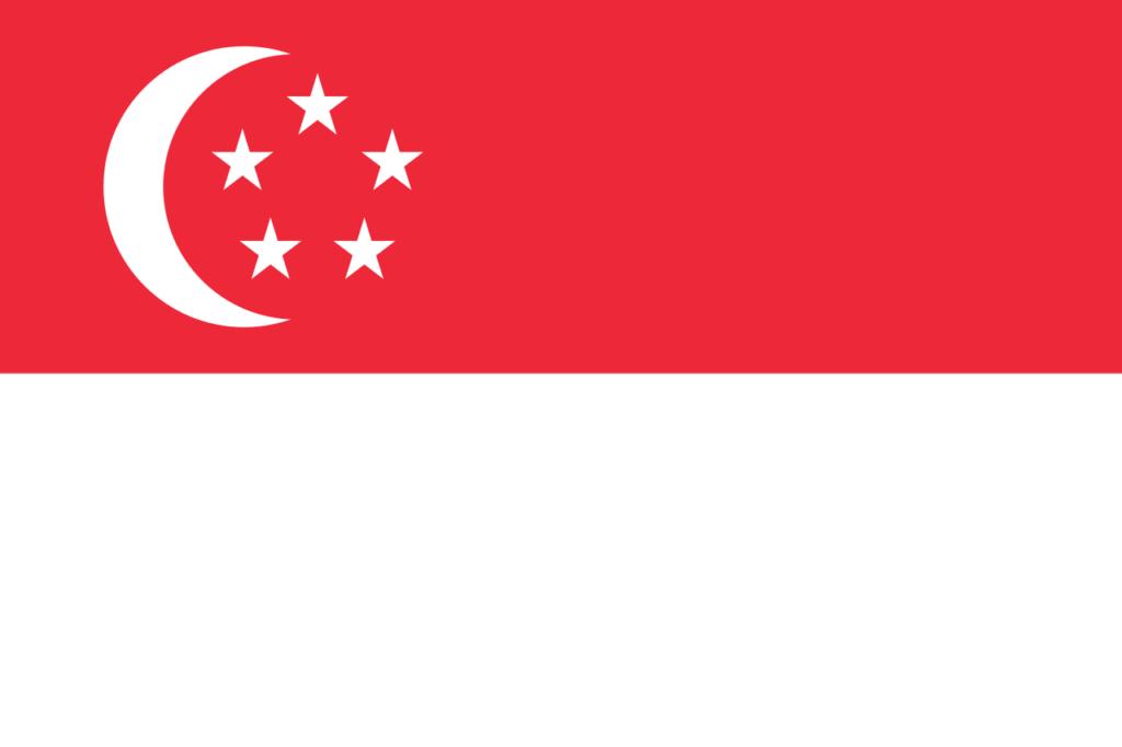 флаг сингапура-1