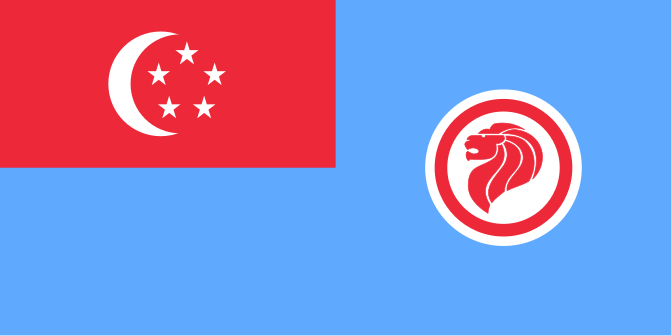 флаг сингапура-14