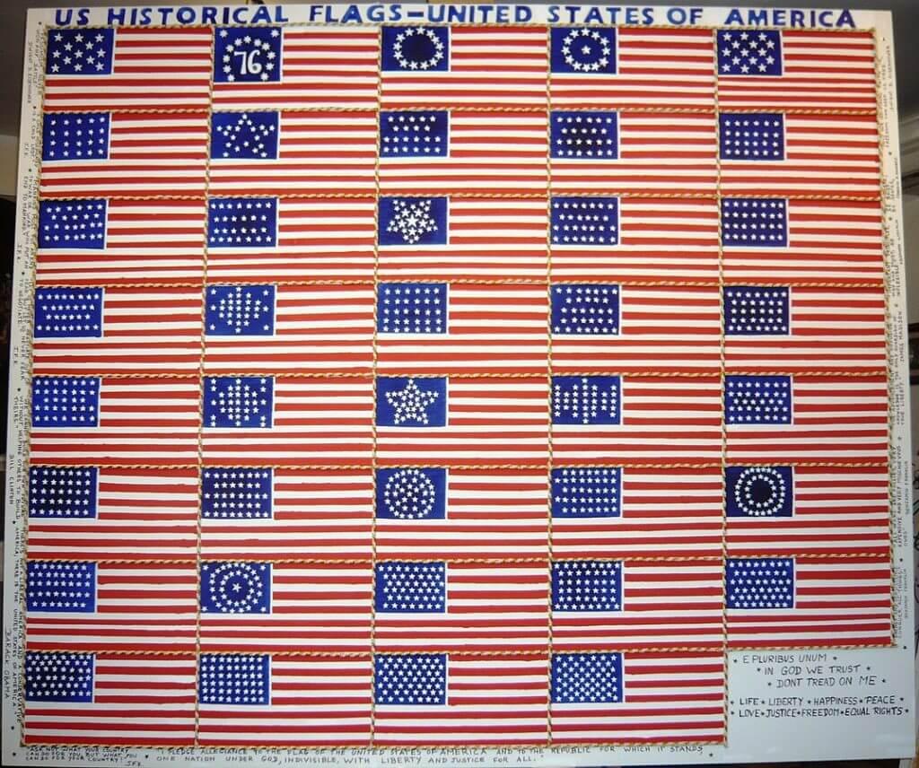 флаг сша-51