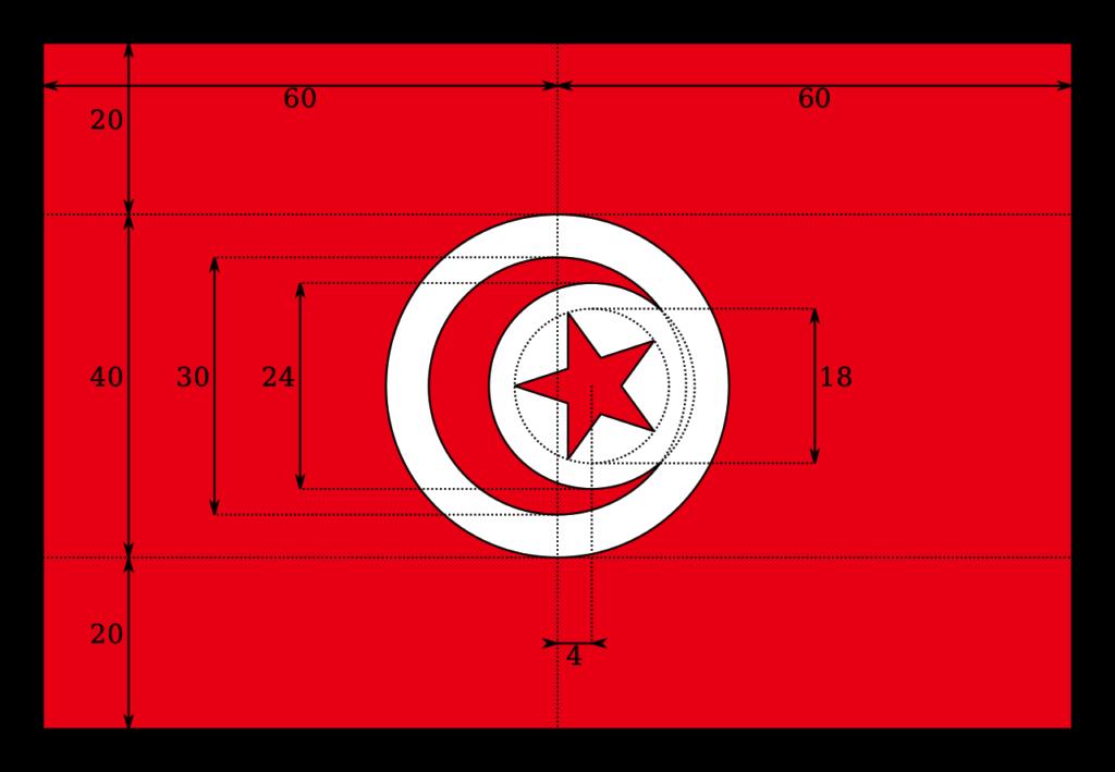 флаг туниса-6