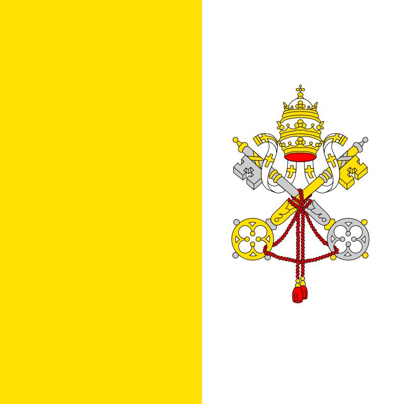 флаг ватикана-1