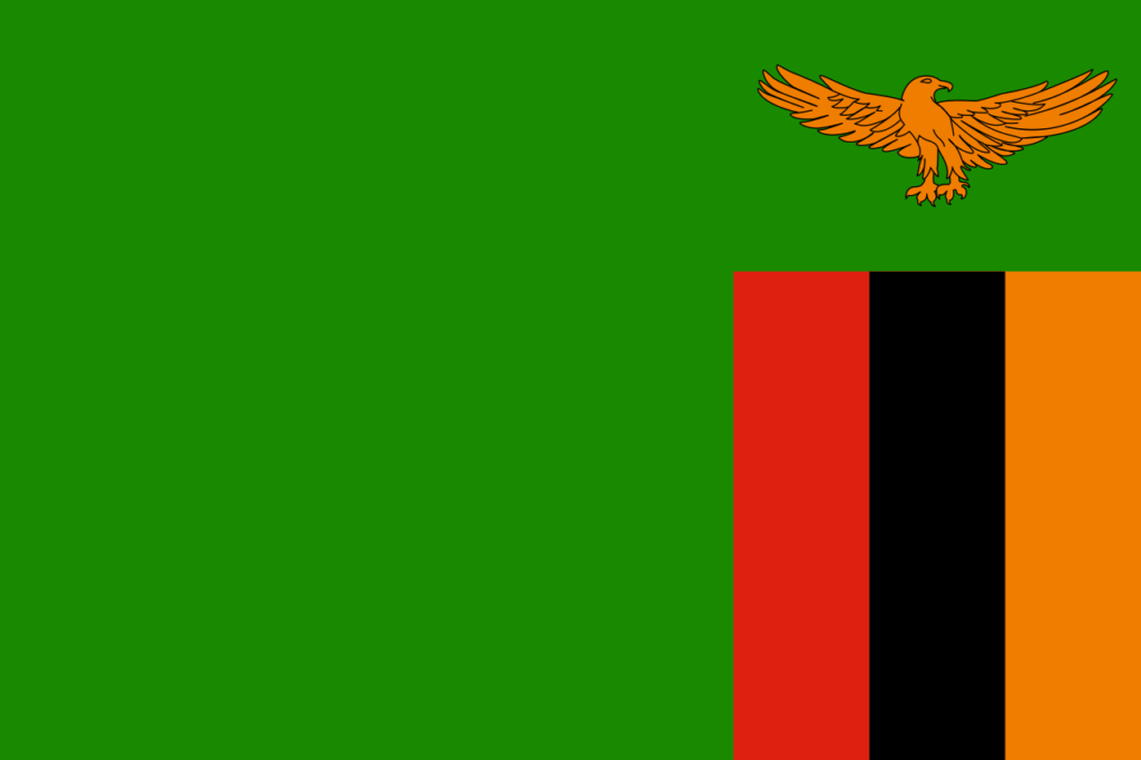флаг замбии-1