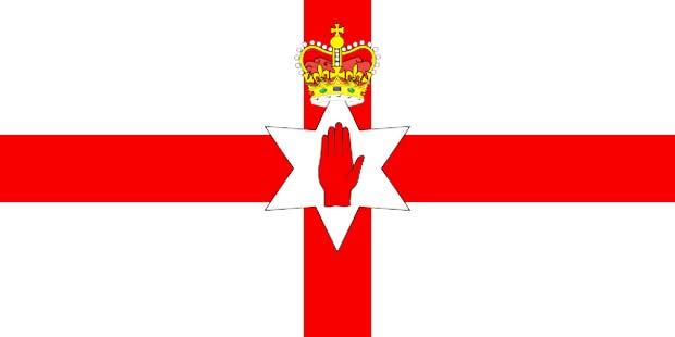 флаг северной ирландии