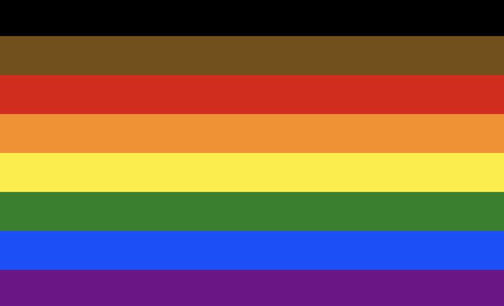Philadelphia's People of Color Inclusive Flag