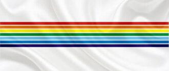 флаг еврейской автономной республики