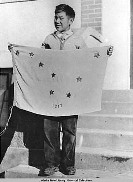 флаг аляски фото