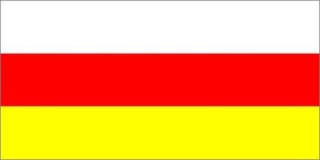 флаг осетии фото