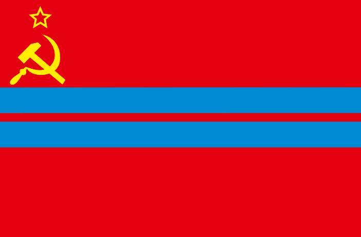 флаг туркменской сср