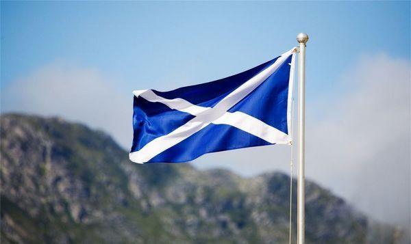 флаг шотландии фото