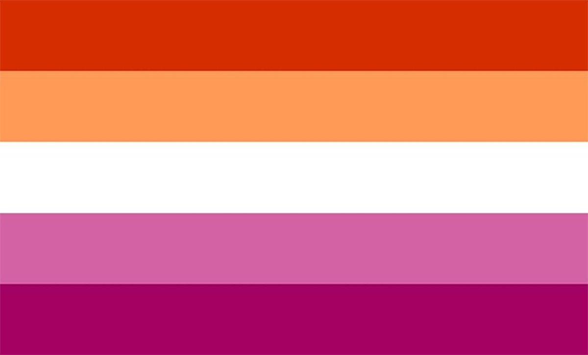 флаг лесбиянок правильный