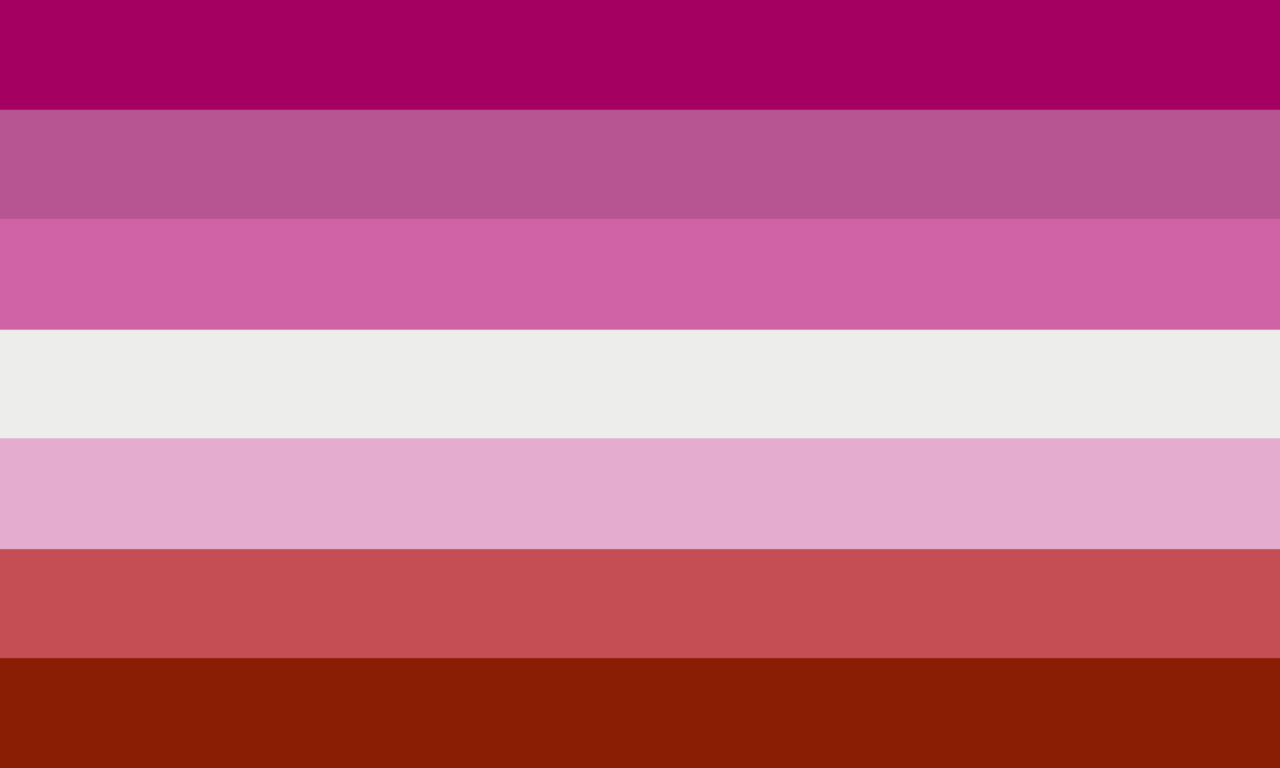флаг лесбиянок