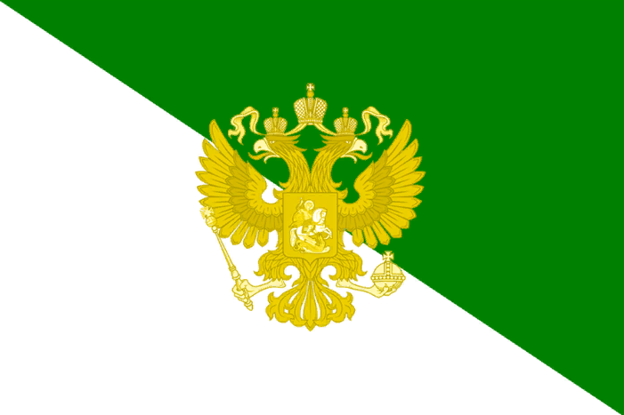 флаг сибири бело зеленый