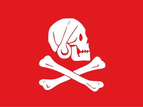 как выглядит пиратский флаг