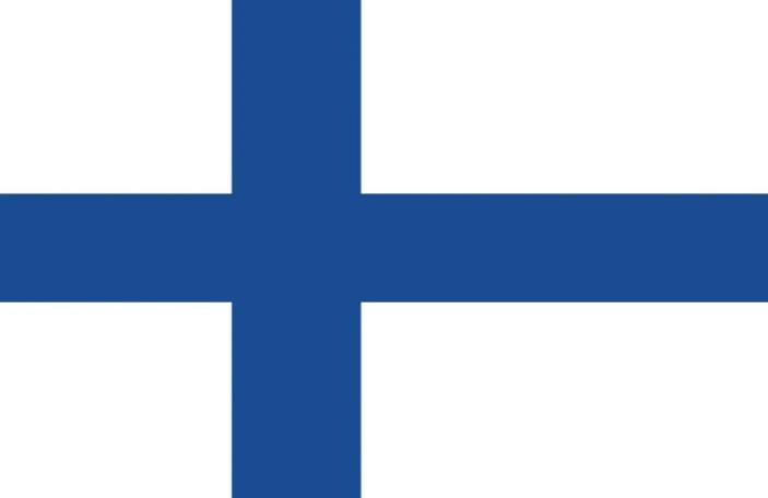 как выглядит флаг финляндии